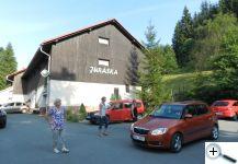 Chata Juráška, kde bydlíme