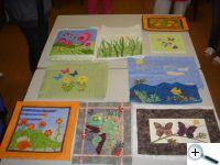 Zahrada snů - Fused Quilt Art