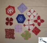 Látkové origami - základ pro další tvoření