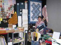 Látkové bloky, materiály pro art quilt ...