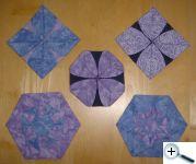 Vzory ve fialové