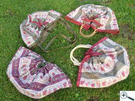 Hotové tašky pro hraběnky