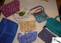 Tašky podle šablon - od kabelek po tašky