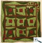 Irish art - quilt