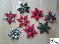Vánoční kytky - hvězdy