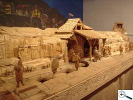 Krásný dřevěný betlém