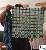 Batika skládaná