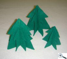Filcové stromečky
