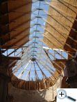 Světový unikát - skleněná střecha