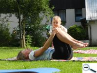 Cvičení s maminkou