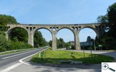 Krásný viadukt cestou