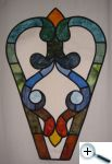 Vitráž - motiv z chrámového okna