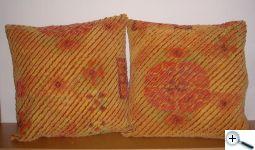 Žinylka - polštáře z potahové látky